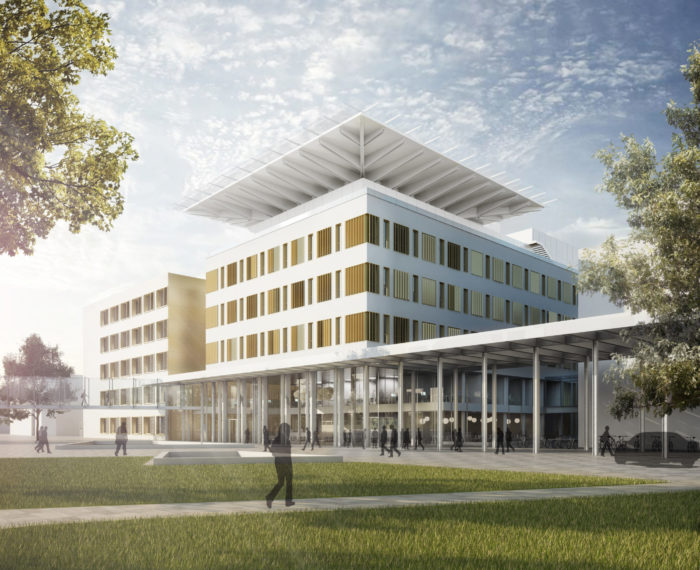 Operatives Zentrum (OPZ), Universitätsklinikum Erlangen, gmp Architekten